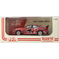 Holden VZ Commodore Todd Kelly 2006 HRT V8 Supercar Signed 1:64