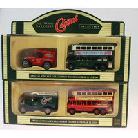 Two Twin Pack Lledo Days Gone Van & Bus