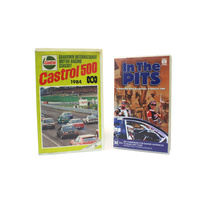 VHS Tapes - 1999 Bathurst In The Pits & 1984 Castrol Sandown 500