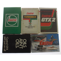 Assorted Sealed Castrol Playing Cards