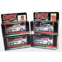Signed Assortment of 1:64 Castrol Racing Cars