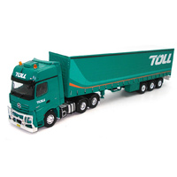 Mercedes Benz MP04 & Tautliner Rig - Toll