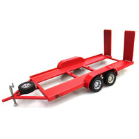 1:24 Metal Trailer - Red