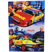 Johnson / Radisich 2001 Shell Helix Racing Poster