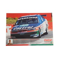 Castrol Racing Holden Larry Perkins Flyer Rare