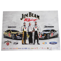 Jim Beam Racing Moffat Johnson V8 Supercars Poster