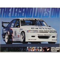 1992 Holden Racing Team Block Mounted Poster