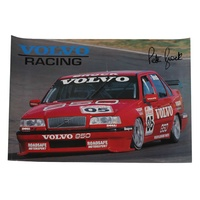 Peter Brock Volvo Racing Poster