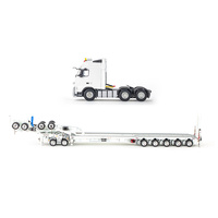 Globetrotter Truck 5x8 Swingwings - White