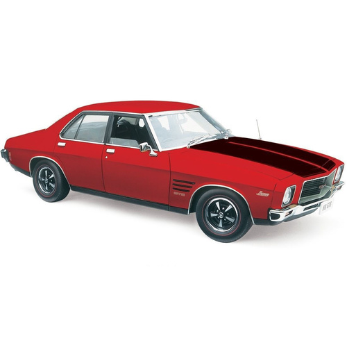 1:18 Holden HQ Monaro GTS Salamanca Red with Black Stripes
