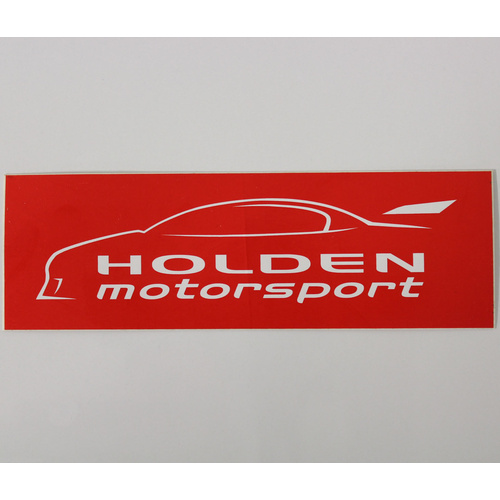Holden Motorsport Sticker