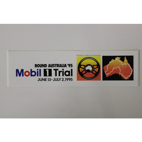 Mobil 1 Trial 1995 Sticker